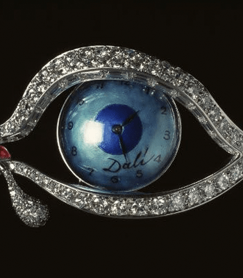 'The Eye of Time' brooch