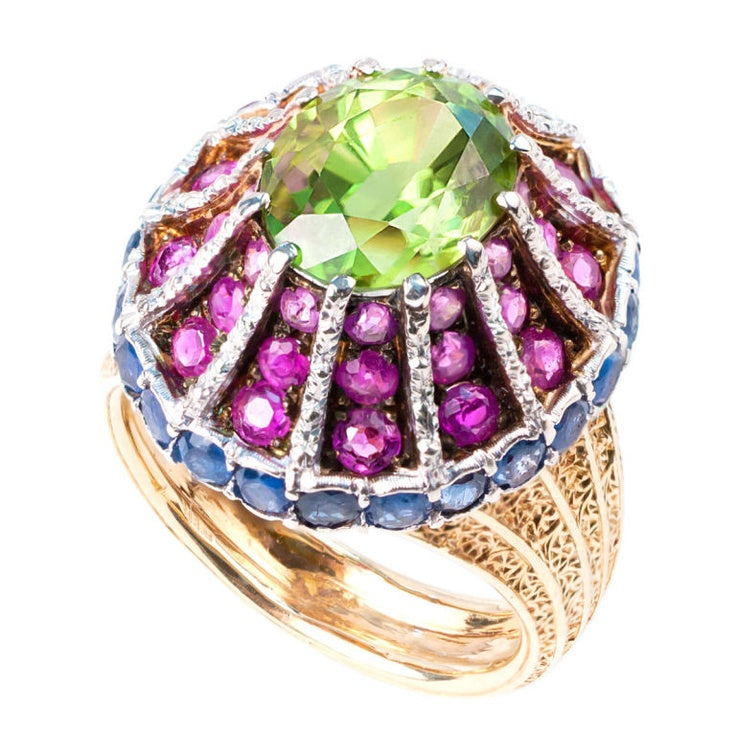 A Multi-Colored Byzantine Domed Ring