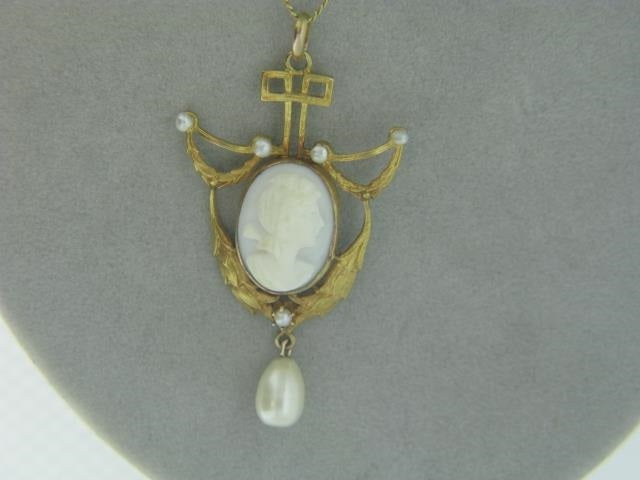 Victorian Cameo Lavalier