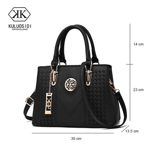 Embroidery Messenger Bags Women Leather Handbags Bags for Women 2018 Sac a  Main Ladies Hand Bag e856dc8046ee9