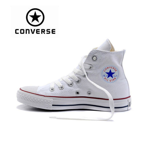 f3b93a01c6a Genuine Black White Converse ALL STAR Sneaker Unisex High Top Skateboarding Shoes  Women Men Lace-