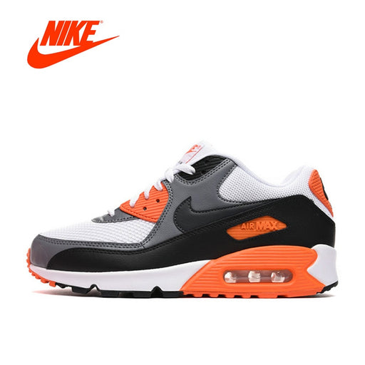 cheaper 77642 e7c1d Original Authentic NIKE Men s Shoes AIR MAX 90 ESSENTIAL Breathable Outdoor Running  Sneakers Men Shoe Sports