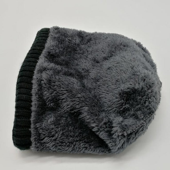 ski cap and scarf cold warm leather winter hat for women men oZyc hot  selling 2pcs 00b6a330d7f