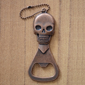 Skull Beer Bottle Opener