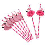 50pcs/set Paper Straws
