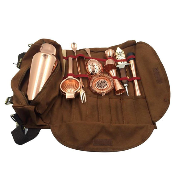 Bartender Kit Leather Bag