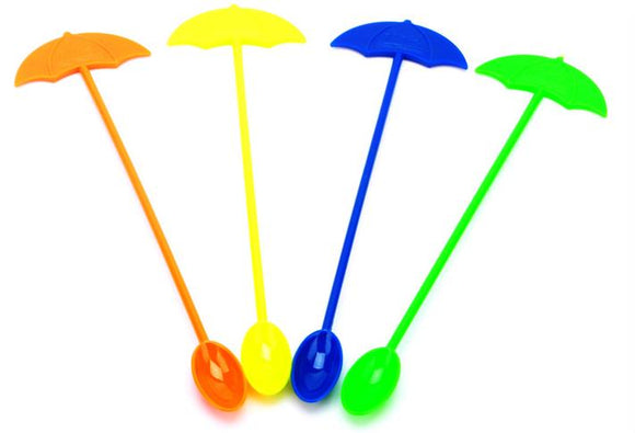 Candy color acrylic sun umbrella