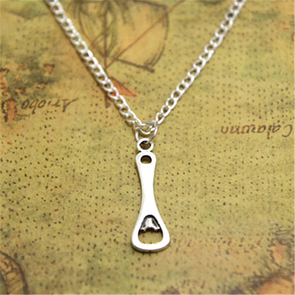 12pcs/lot Bottle Opener necklace