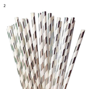 Mixed Drink Paper Straws Birthday Party Supplies