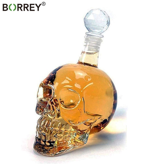 1000Ml Skull Whiskey Glass