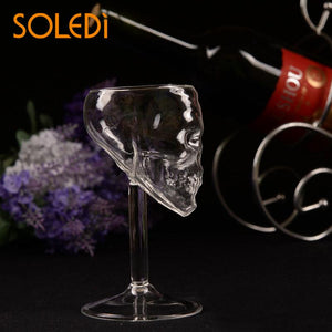55ml Skull glass glass Head Drinking Ware Wine Glass Bar gift artware