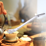 Stainless Steel Drinking Straw Spoon Tea Filter Yerba Mate