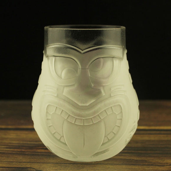 Thicker glass Tiki cup