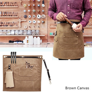 Canvas Denim Waist Apron