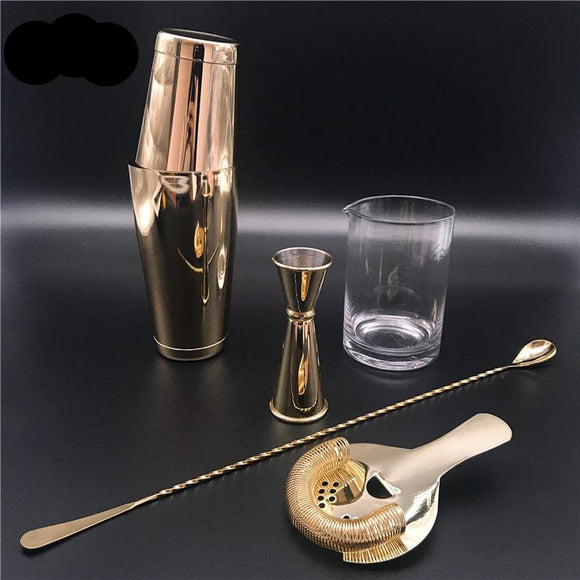 5pcs/set Cocktail Shaker Set