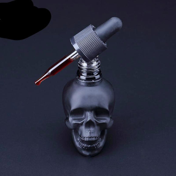 Scrub skull bitter bottle