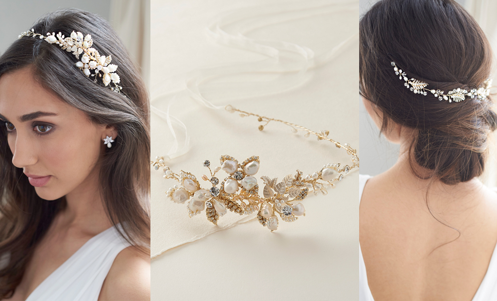 3 Ways to Perfectly Style Ribbon Headbands on Your Wedding Day