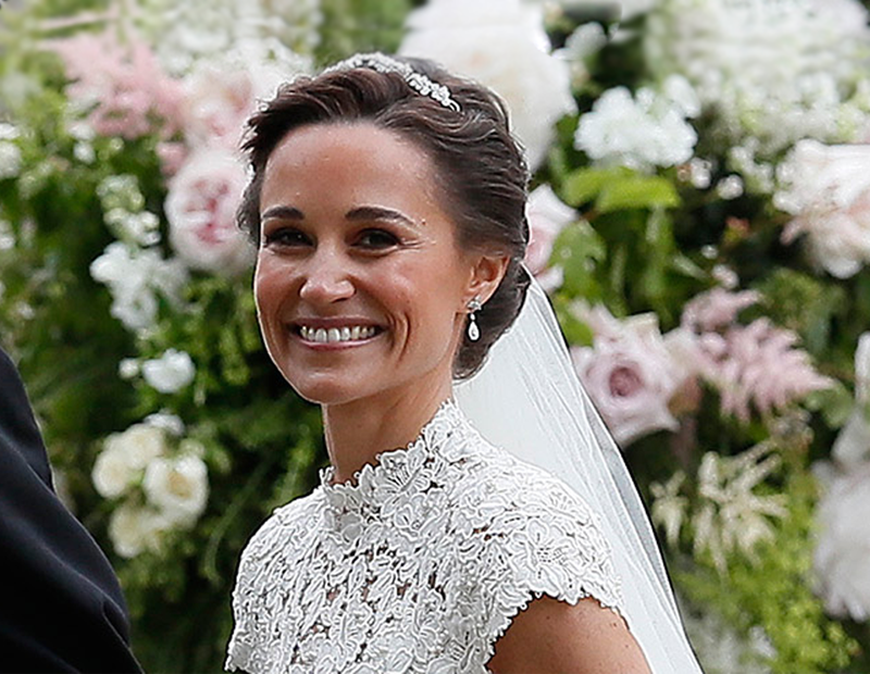 Celebrity Wedding Style: Get Pippa Middleton's Bridal Look!