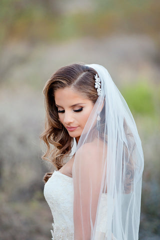 USABride Real Bride Feature Wedding Veil