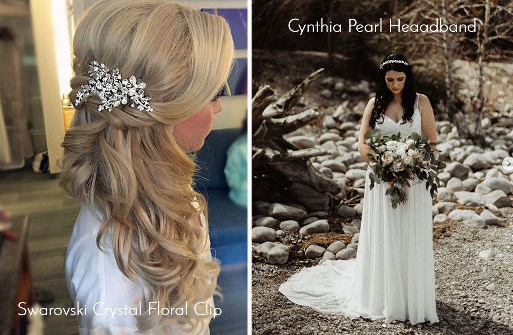 Crystal and Pearl Bridal Accessories