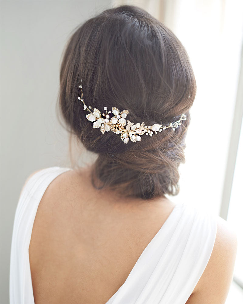 Unique Bridal Hair Accessory