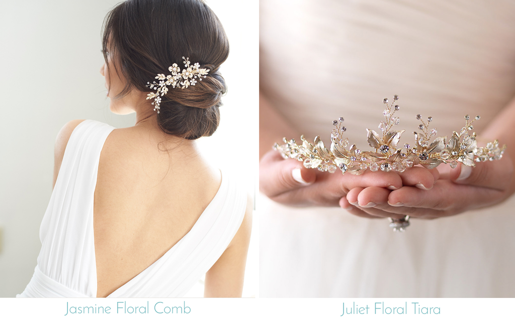 Floral Wedding Hair Pieces