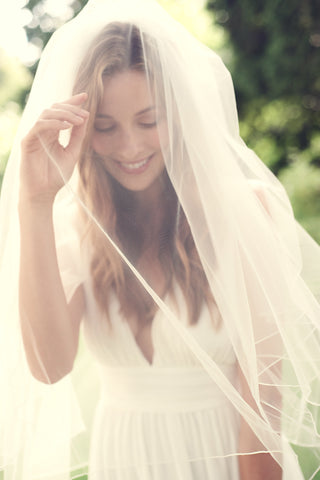Bridal Wedding Veil with Blusher