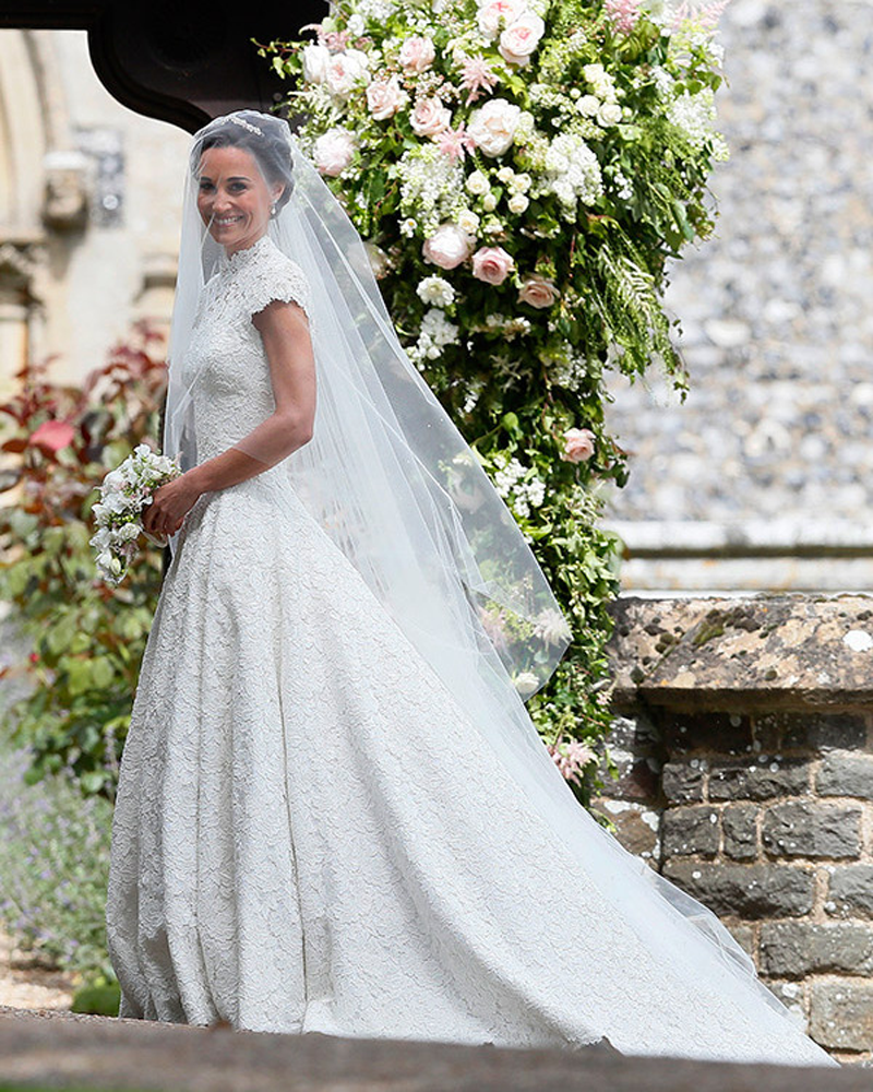Pippa Middleton Royal Wedding Look