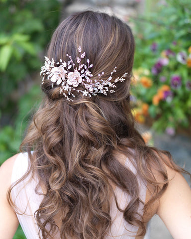 Lydia Floral Headpiece