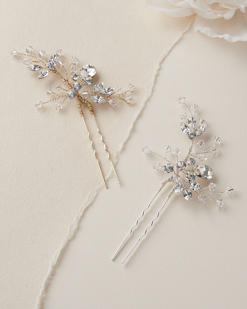 Swarovski Bridal Hair Pins