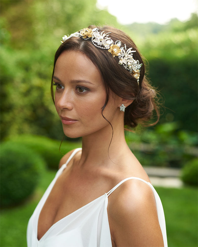 Floral Wedding Tiara