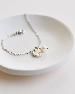 Initial Bracelet for Bridesmaids