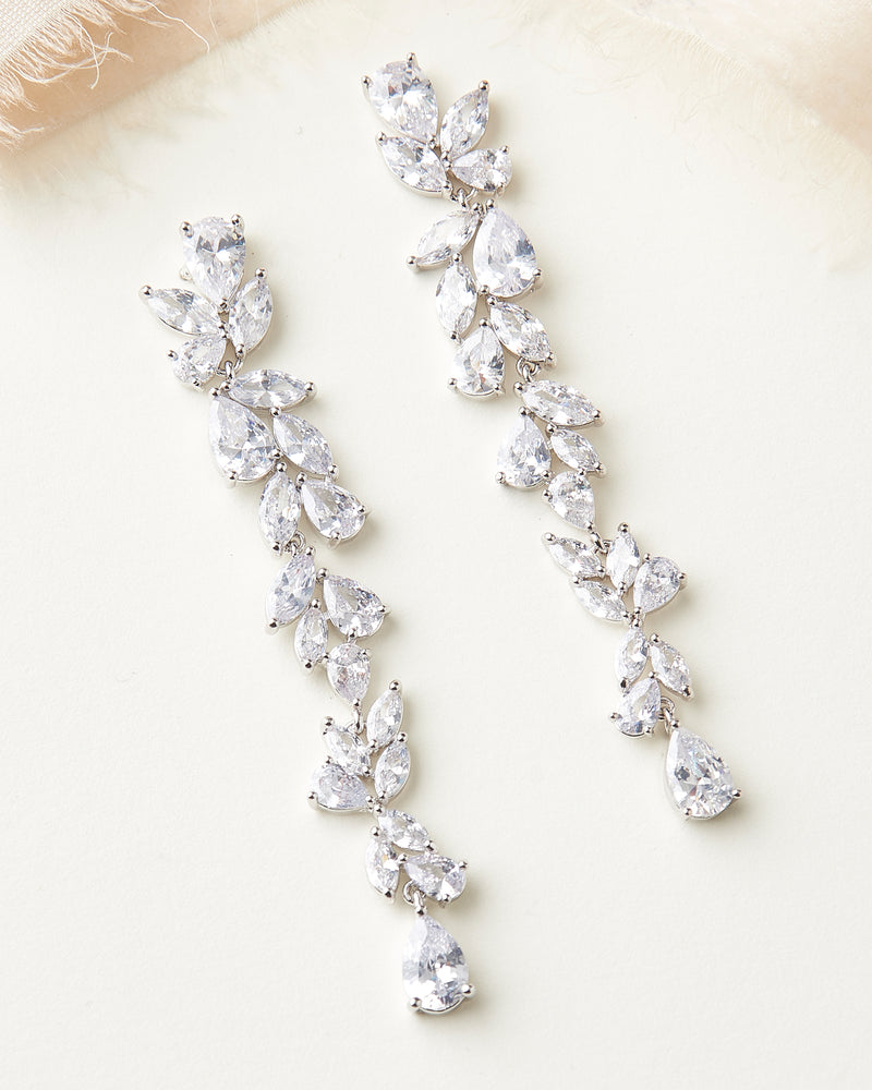 Bride Statement Earrings