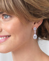 CZ Bridal Earrings