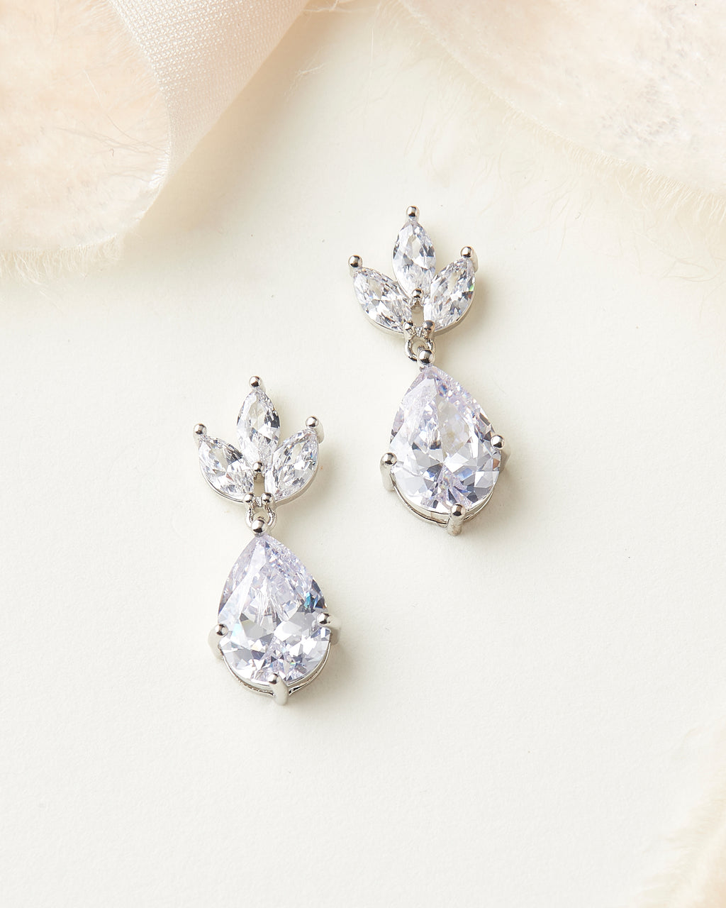 Wedding Earrings CZ