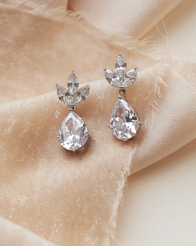 Sara CZ Earrings
