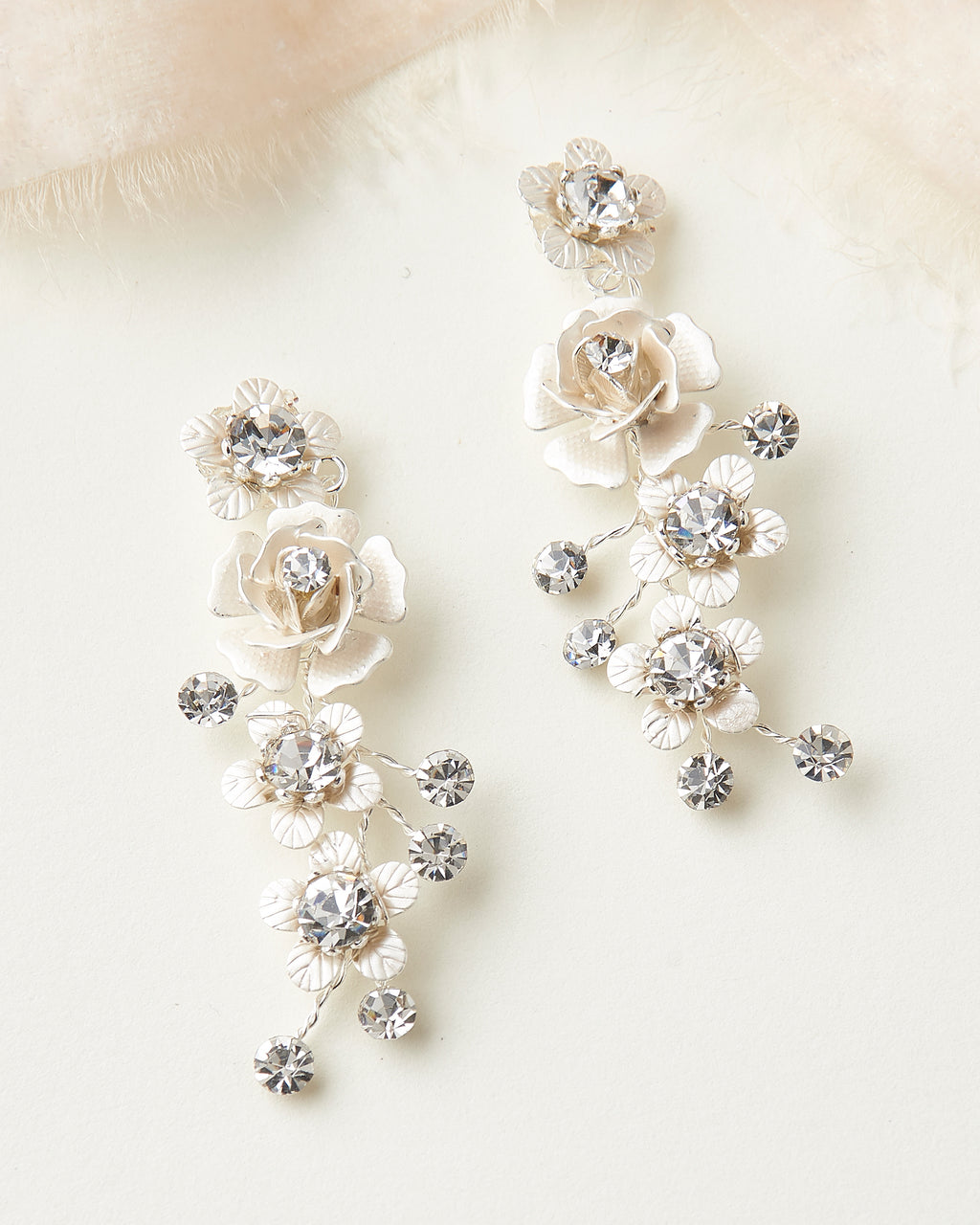 Wedding Earrings Floral