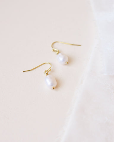 Elizabeth CZ Earrings
