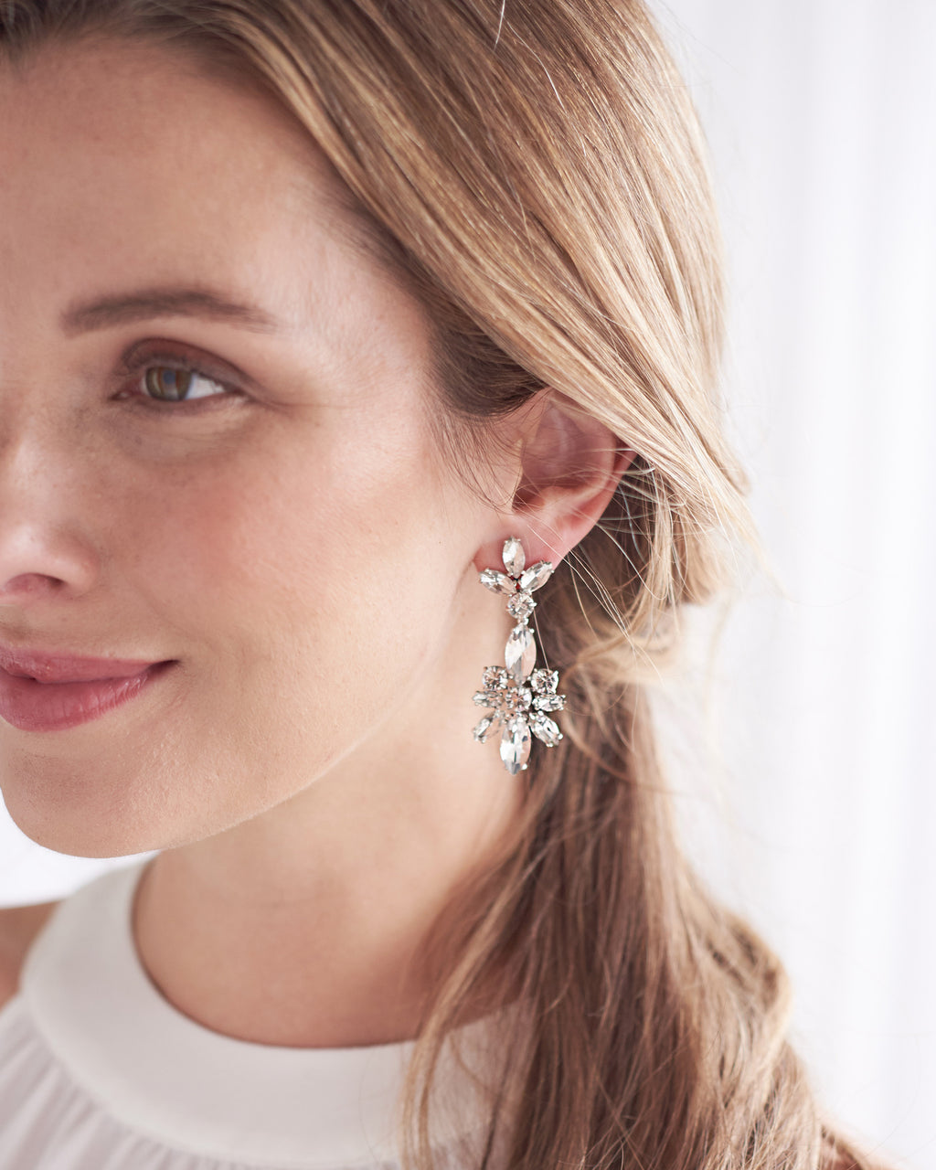 Wedding Day Statement Earrings