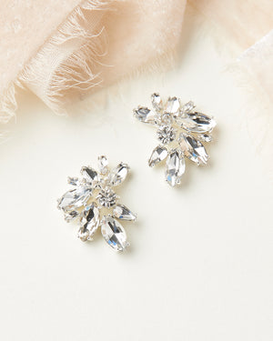 Shea Crystal Cluster Studs
