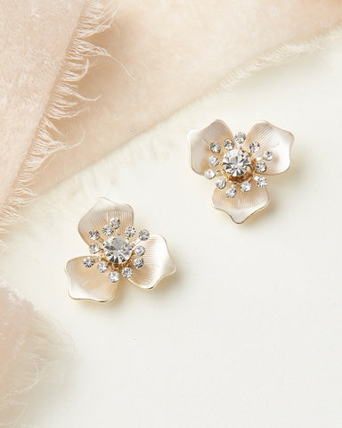 Lexie Floral Statement Earrings