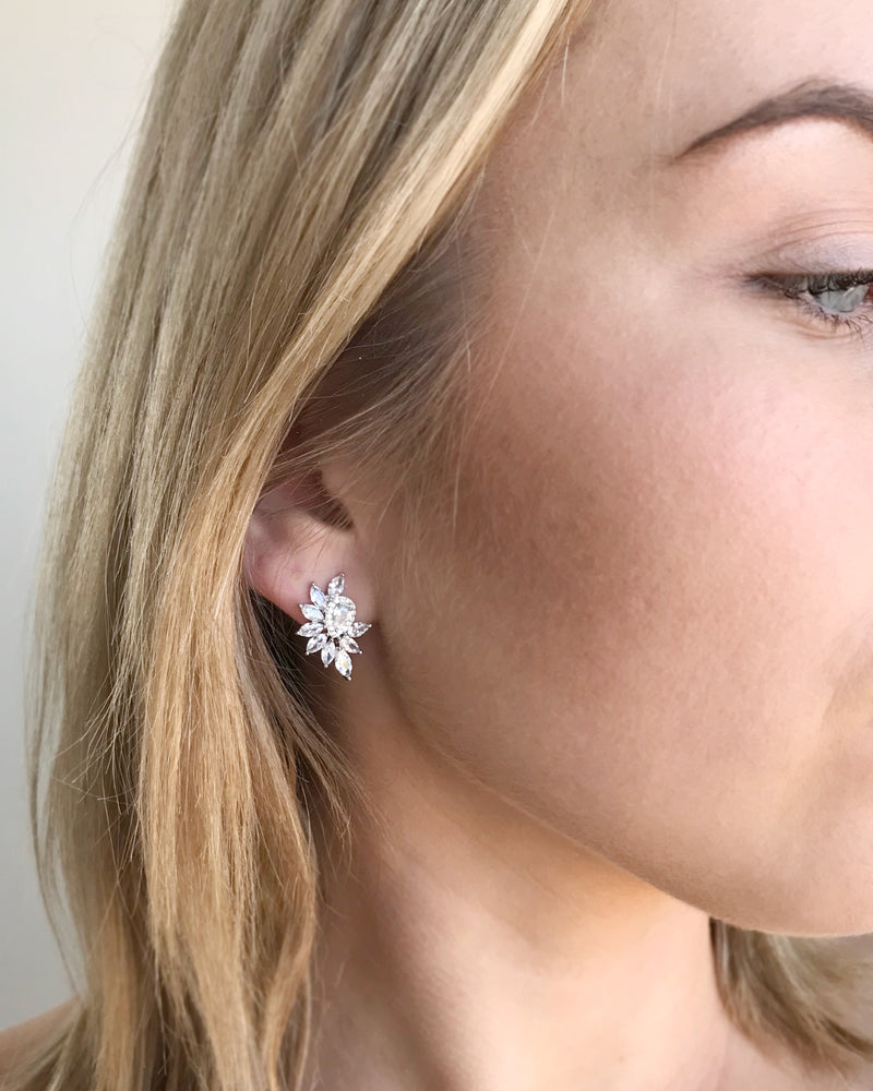 Stud Earrings Bridal