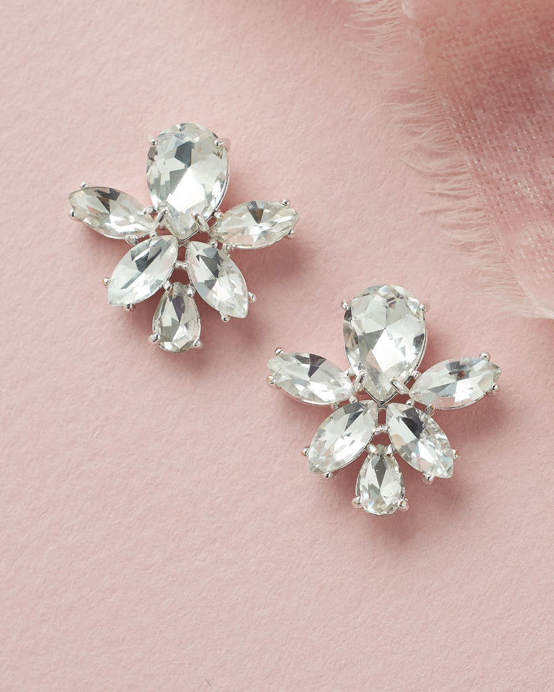 Ashley Crystal Cluster Studs