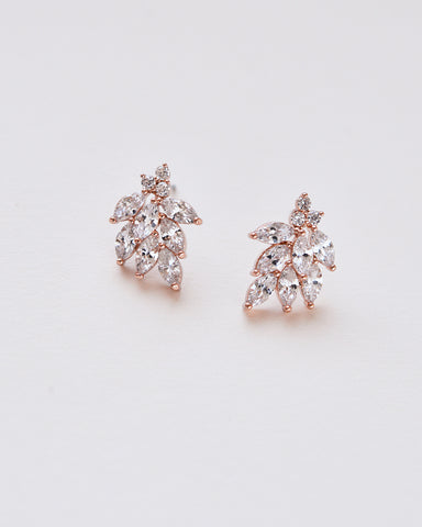 Delilah CZ Drop Earrings