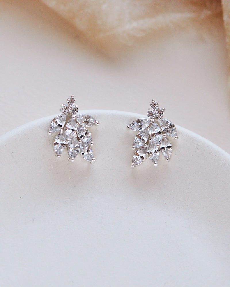 Small Bridal Earrings