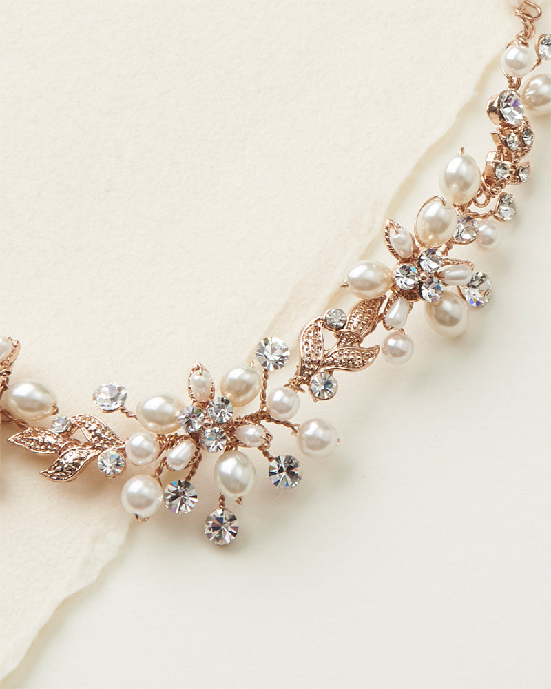 Rose Gold Wedding Jewelry