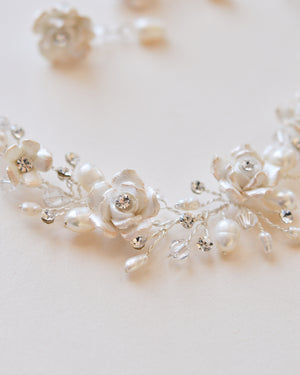 Floral Bride Jewelry