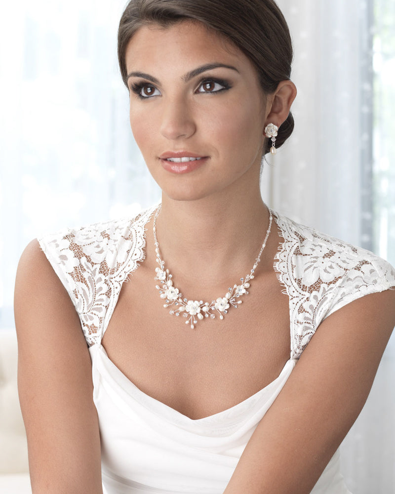 Floral Bridal Jewelry