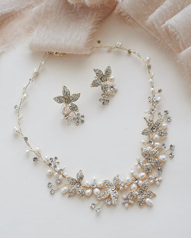 Eve Floral Jewelry Set