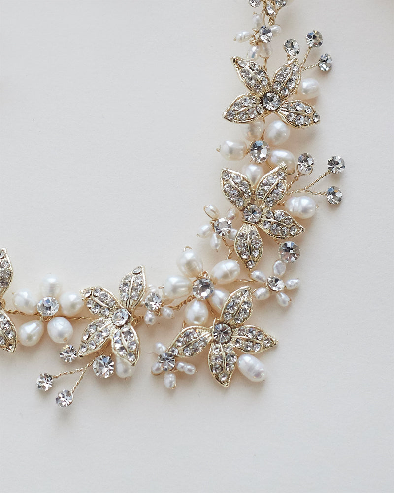Bridal Jewelry Close Up
